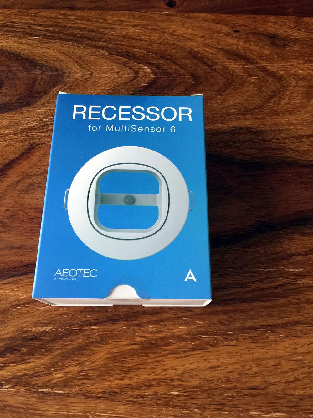 Recessor für den MultiSensor 6