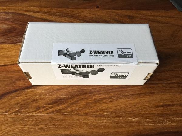 Z-Weather Verpackung